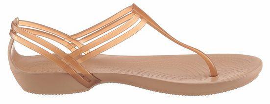 Crocs Isabella T-Strap Sandalette, zum Schlupfen
