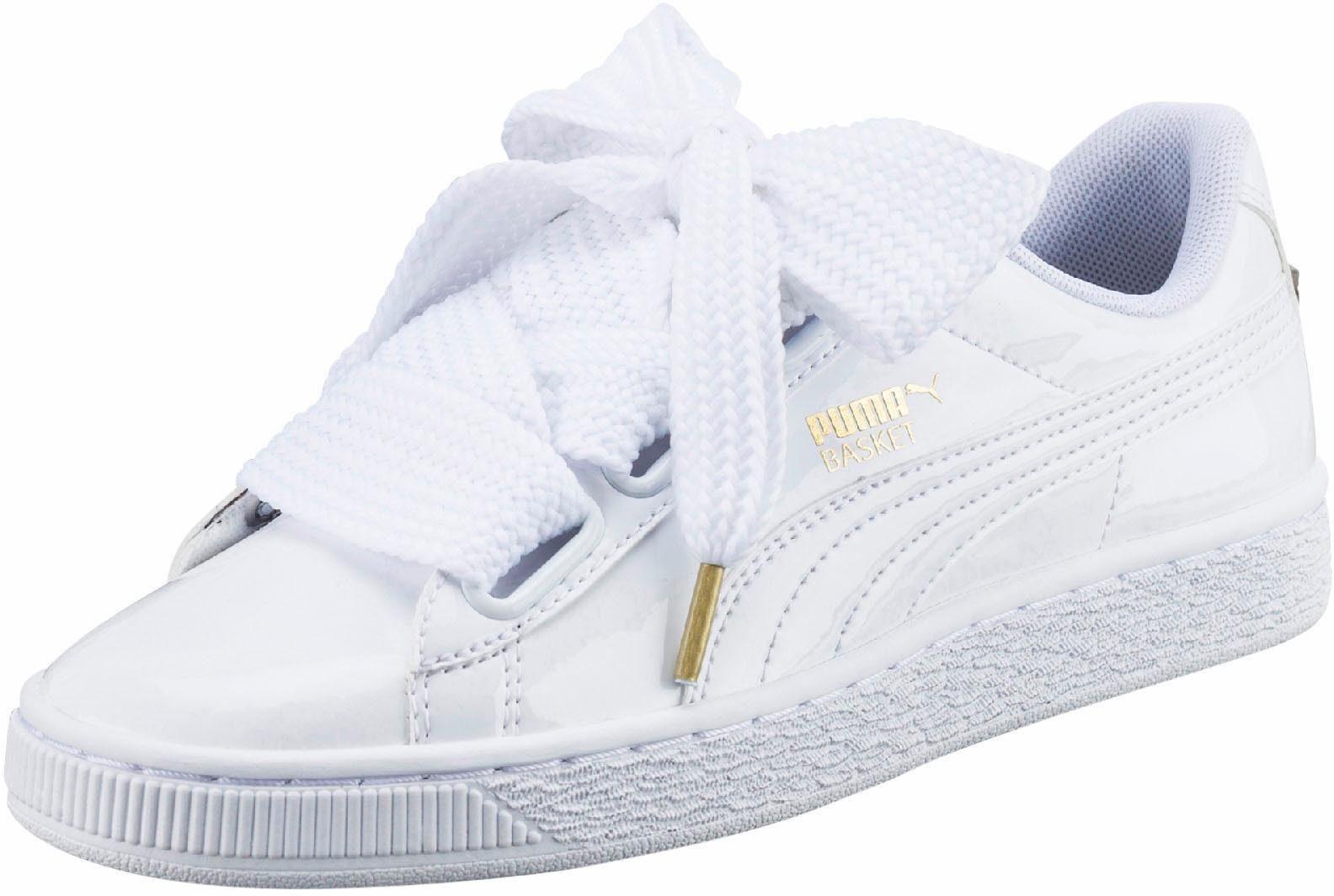 PUMA Basket Heart Patent Sneaker online kaufen  weiß