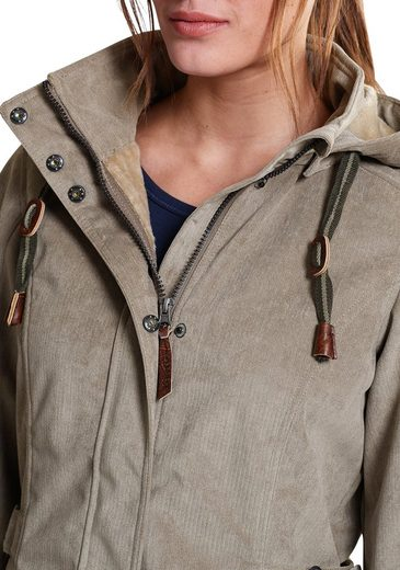 Eddie Bauer Softshell-Jacke in Cord-Optik