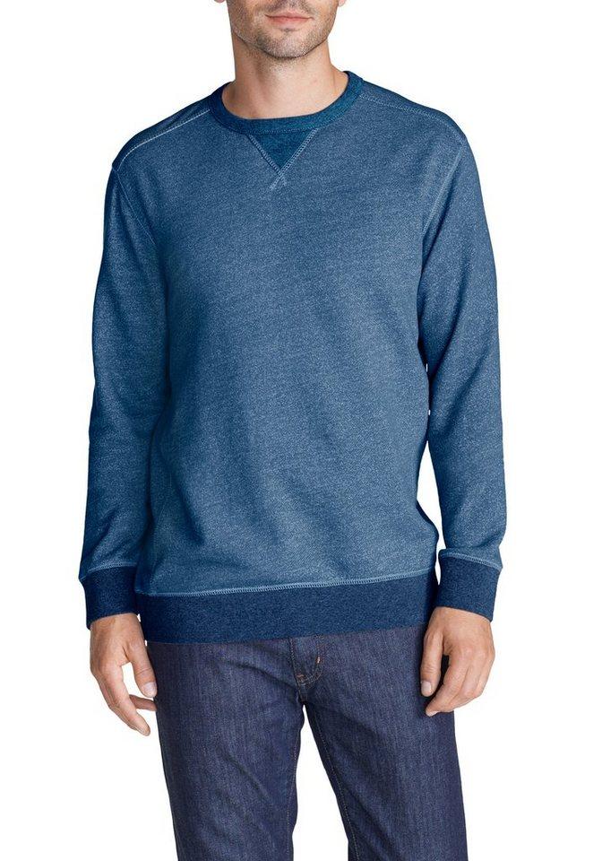 Eddie Bauer Sweatshirt in Blau meliert