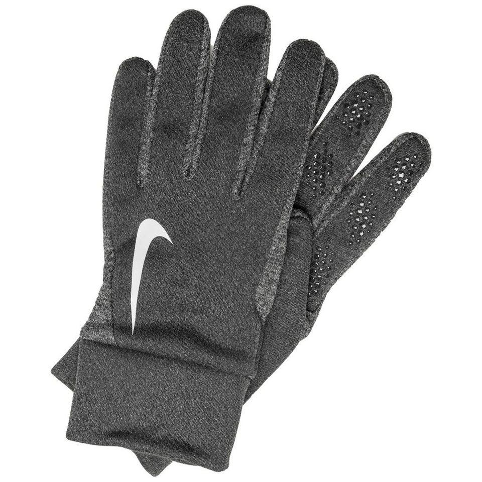 NIKE Hyperwarm Feldspielerhandschuhe Herren in grau / weiß