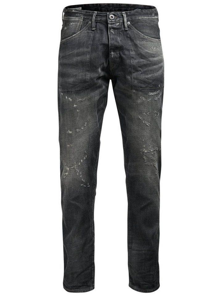 Jack & Jones Erik Craft BL 685 Anti Fit Jeans in Black Denim