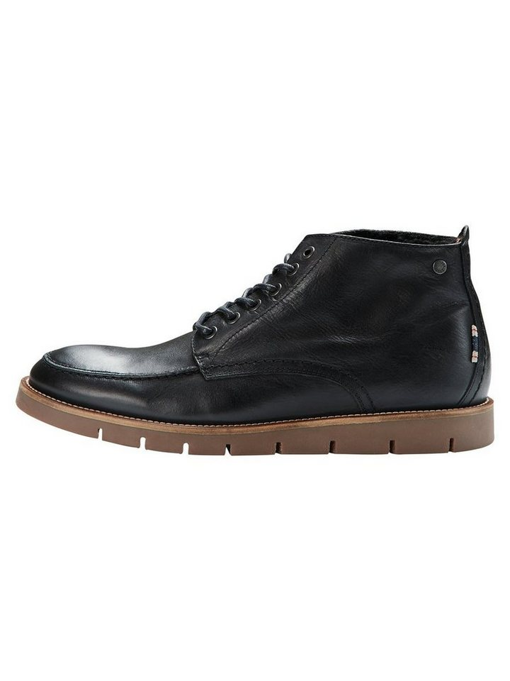 Jack & Jones Rustikale Stiefel in Black