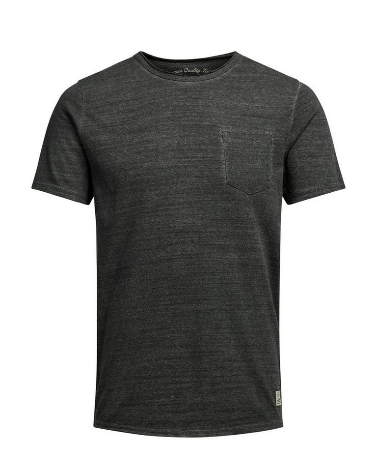 Jack & Jones Rustikales T-Shirt in Black Olive
