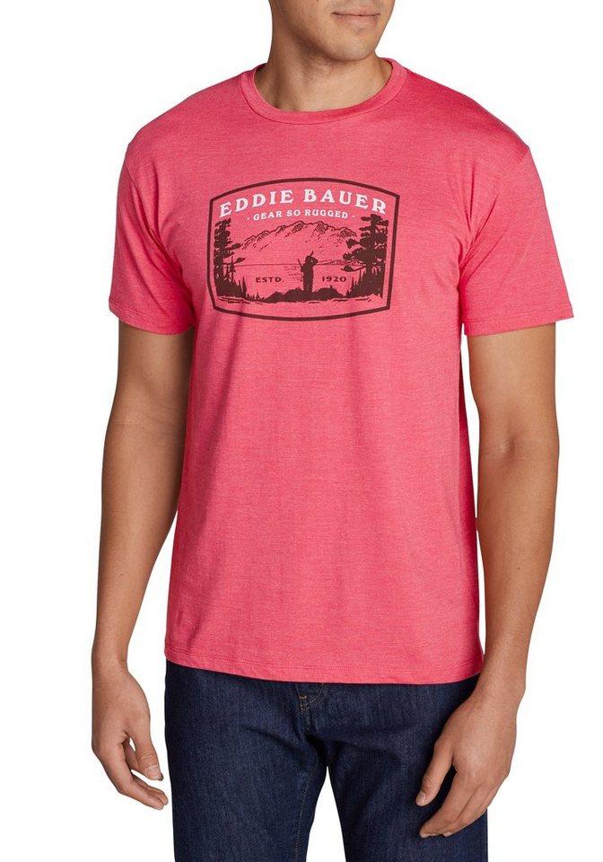Eddie Bauer Out Yonder Shirt in Rot meliert