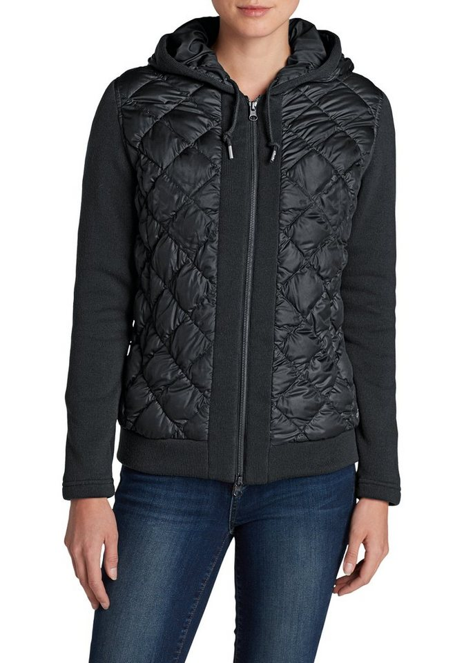 Eddie Bauer Swiss Model Daunenjacke in Schwarz