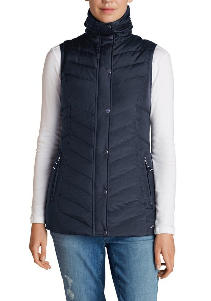 Eddie Bauer Sun Valley Daunenweste in Navy