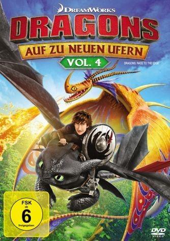 DVD »Dragons - Auf zu neuen Ufern, Vol. 4«