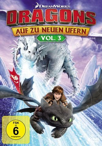 DVD »Dragons - Auf zu neuen Ufern, Vol. 3«