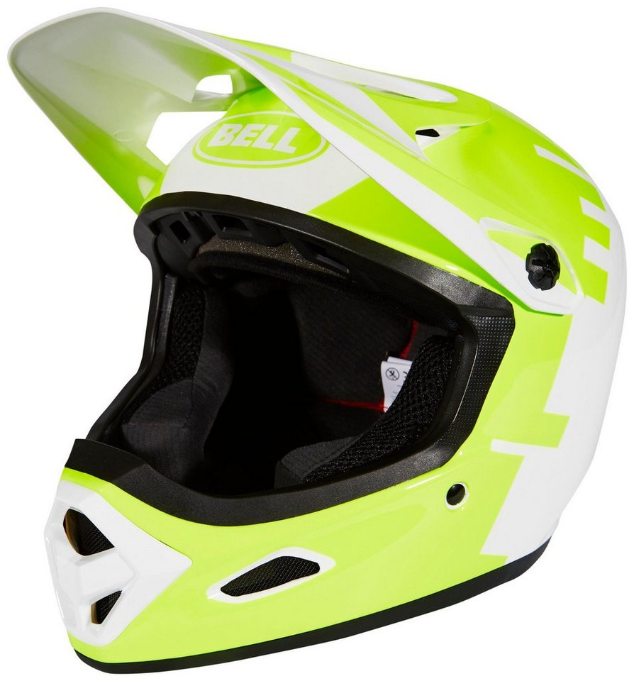 Bell Fahrradhelm »Transfer-9 Fullface Helmet« in weiß
