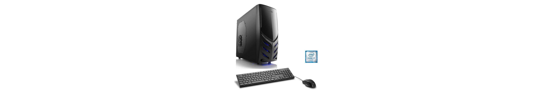CSL Gaming PC | Core i7-6700 | GeForce GTX 1060 | 8 GB RAM | WLAN »Speed T7823 Windows 10 Home«