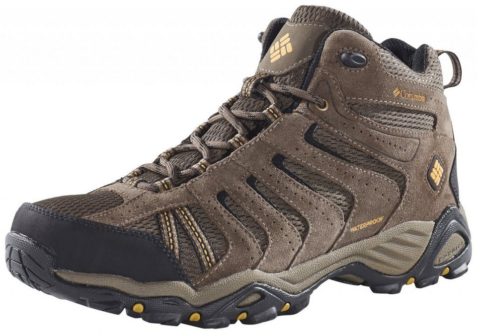 Columbia Kletterschuh »North Plains II Shoes Men WP Mid« in braun
