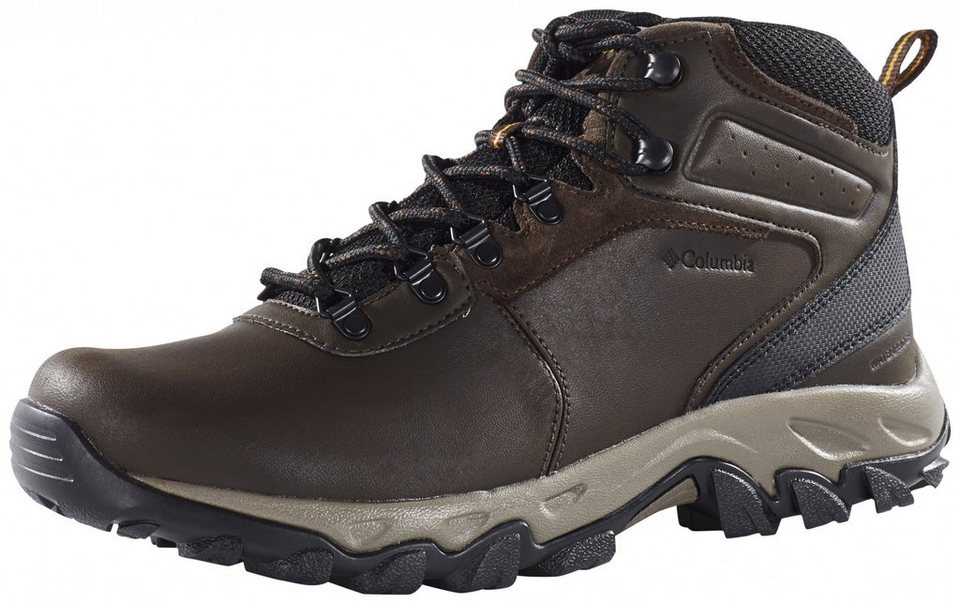 Columbia Kletterschuh »Newton Ridge Plus II Waterproof Shoes Men« in schwarz