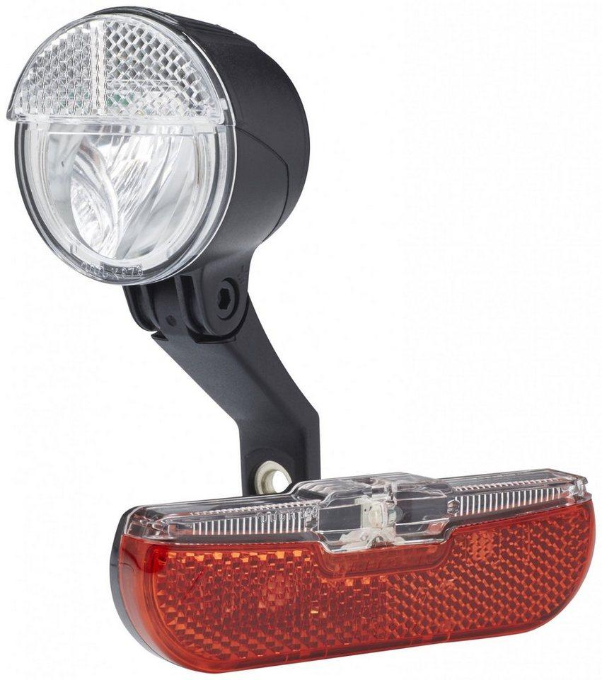 Trelock Fahrradbeleuchtung »LS 593 BIKE-i mini / LS 613 Duo Flat«
