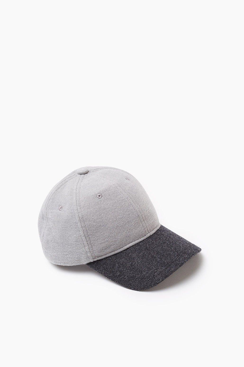 EDC Baseball Cap aus Woll-Mix
