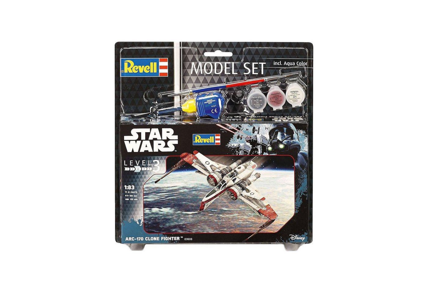 Revell® Modellbausatz - Model Set Star Wars ARC-170 Fighter