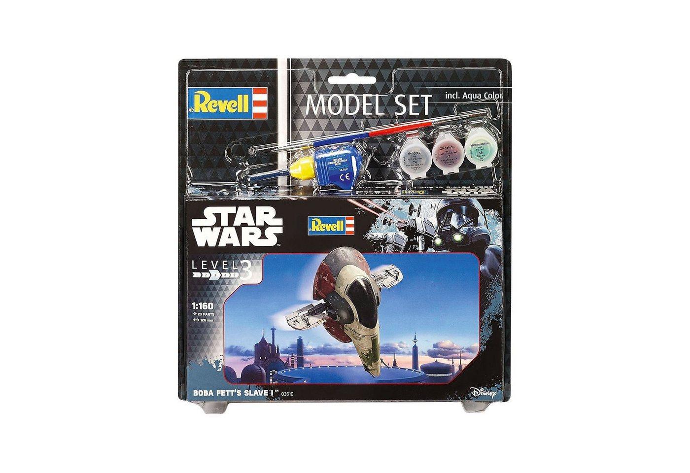 Revell® Modellbausatz Model Set Star Wars Boba Fett´s Slave I