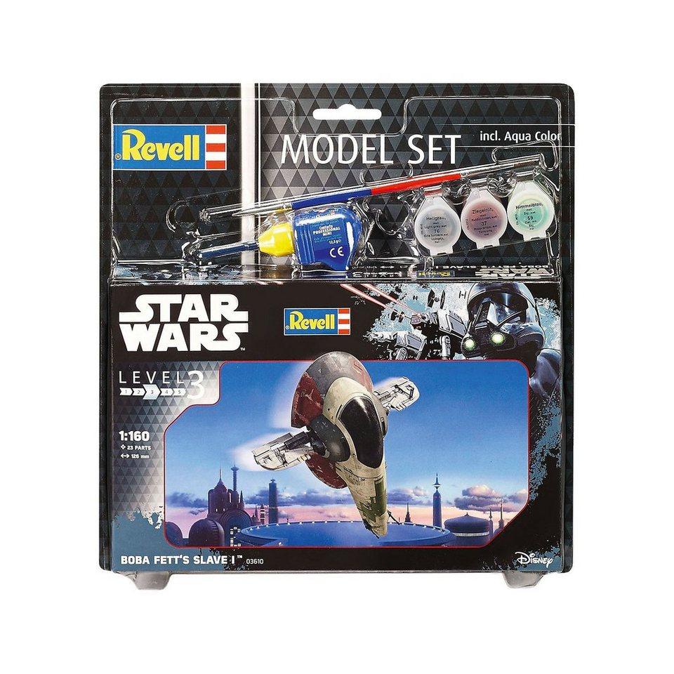 Revell Modellbausatz Model Set Star Wars Boba Fett's Slave I
