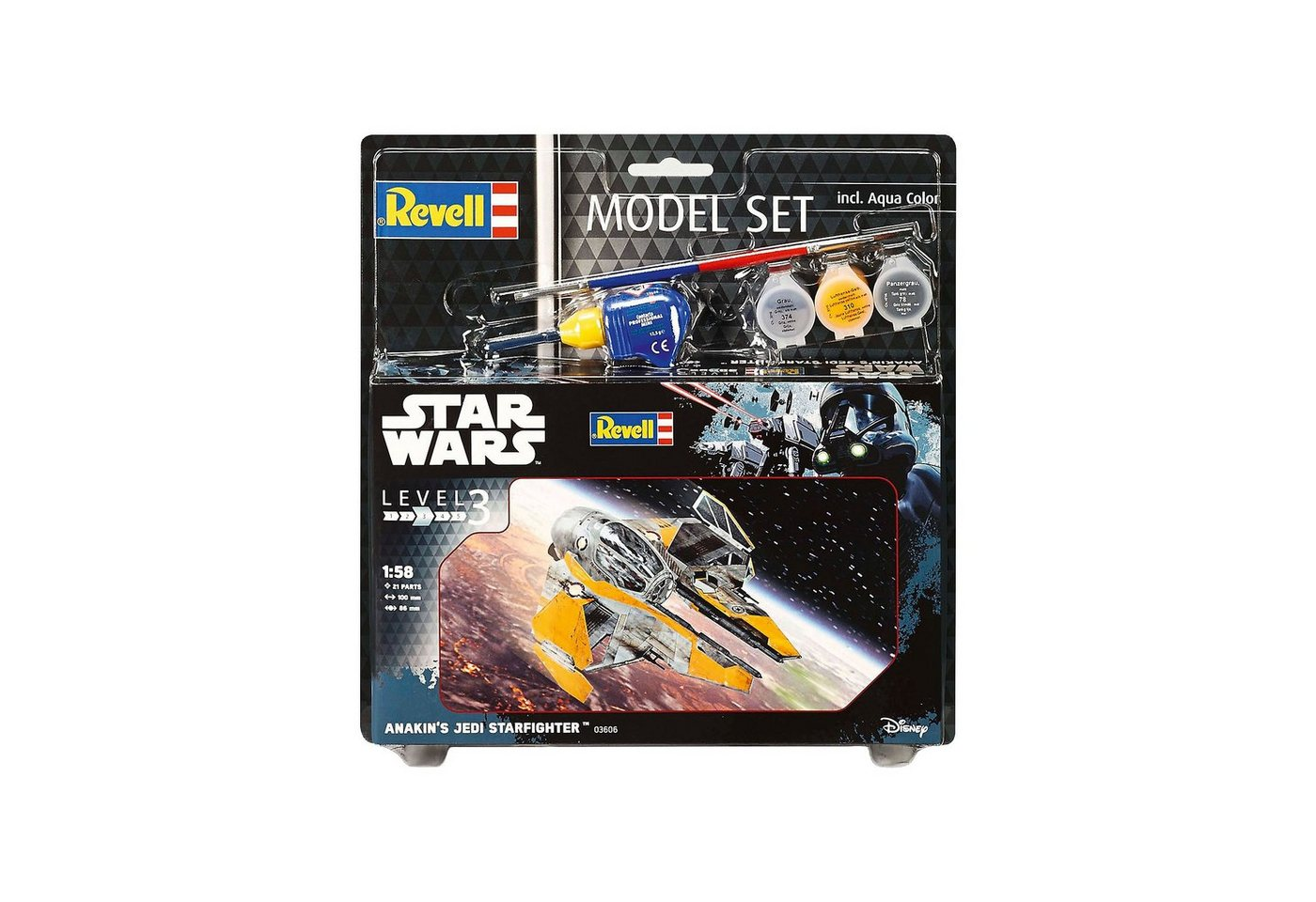 Revell® Modellbausatz - Model Set Star Wars Anakin´s Jedi Starfighte