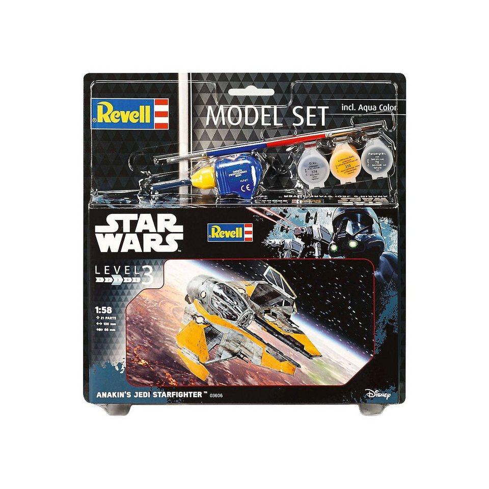 Revell Modellbausatz - Model Set Star Wars Anakin's Jedi Starfighte