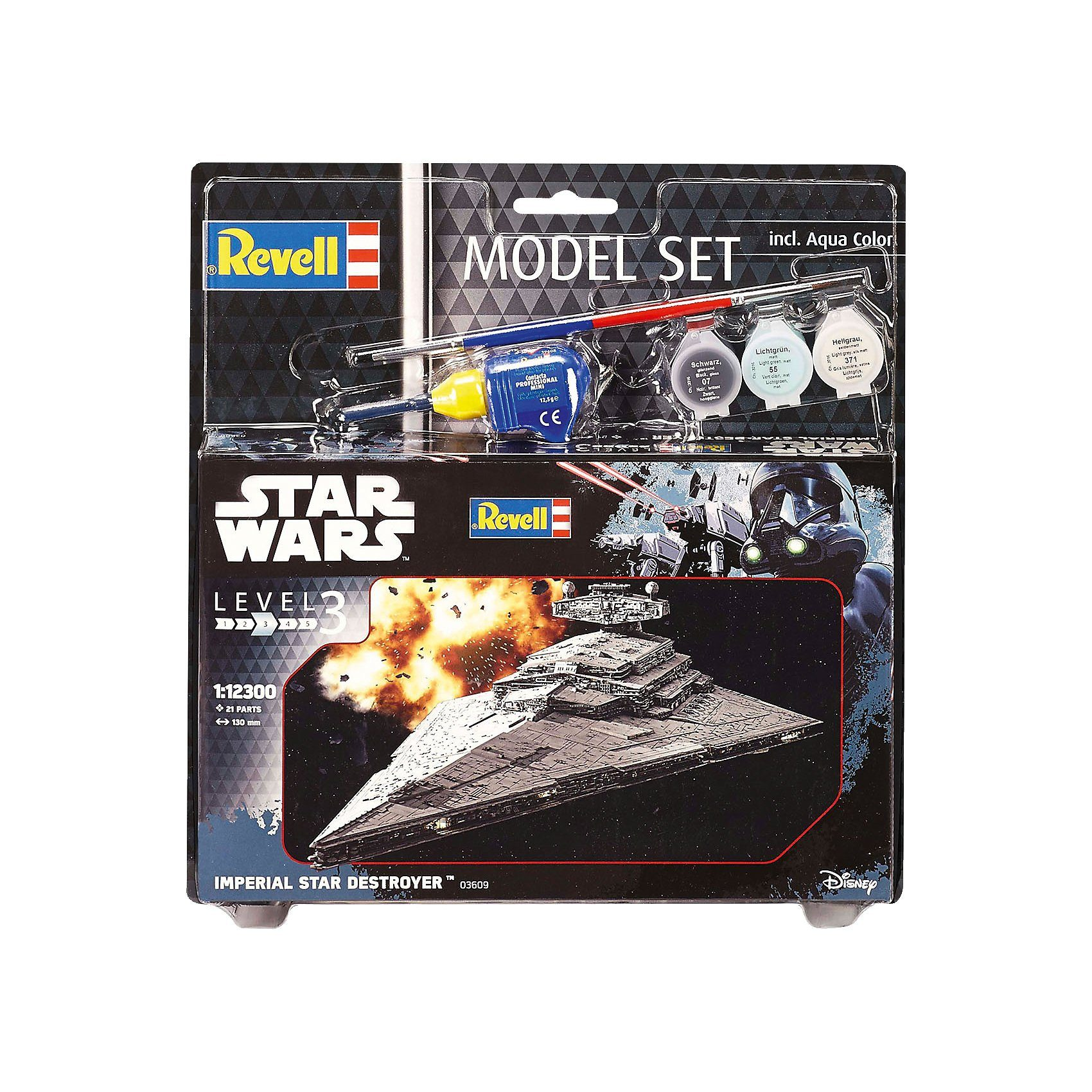 Revell Modellbausatz - Model Set Star Wars Imperial Star Destroyer
