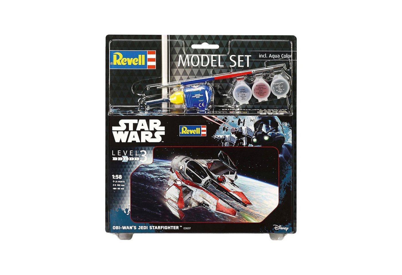 Revell® Modellbausatz - Model Set Star Wars Obi Wan´s Jedi Starfight