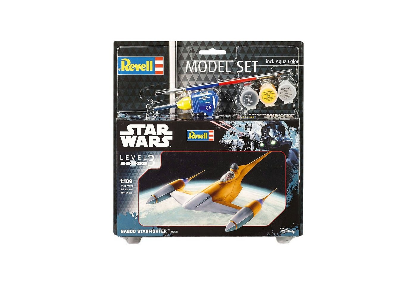 Revell® Modellbausatz - Model Set Star Wars Naboo Starfighter