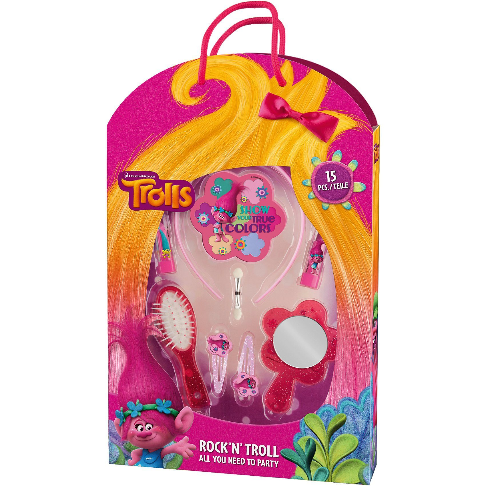 Trolls Kosmetik-Party-Set