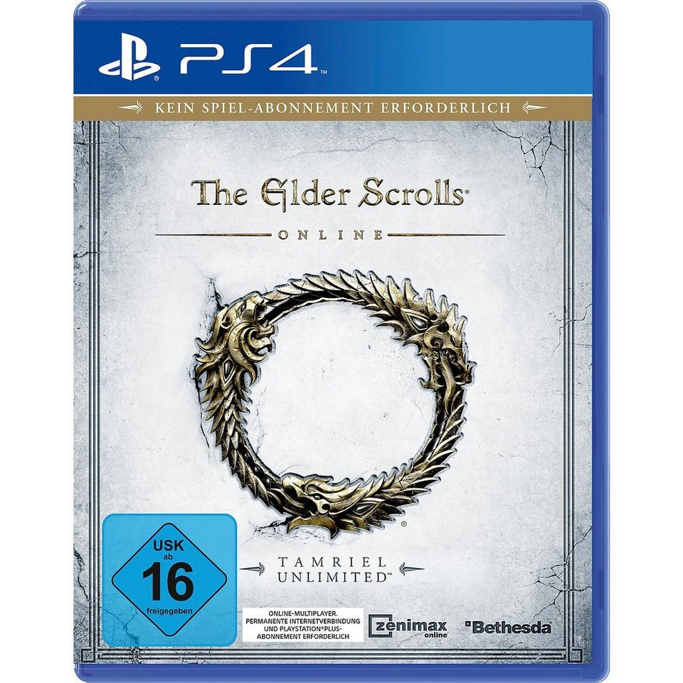 ak tronic PS4 The Elder Scrolls Online: Tamriel Unlimited