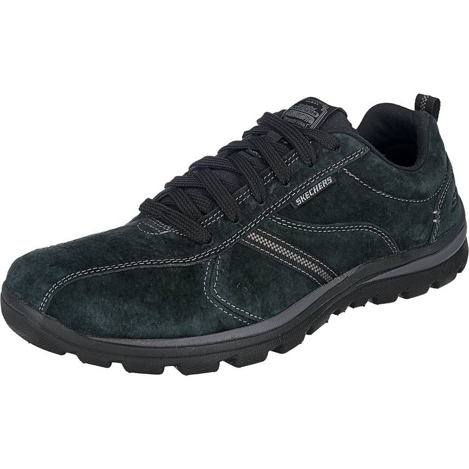 SKECHERS Superior - Abrasive Sneakers in schwarz