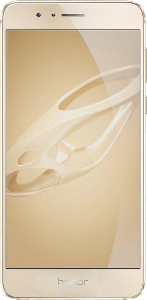 Honor 8 Premium Smartphone, 13,2 cm (5,2 Zoll) Display, LTE (4G), 12,0 Megapixel, NFC in goldfarben