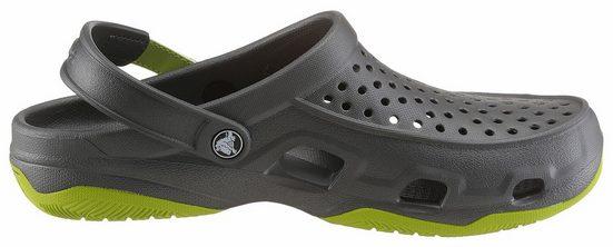 Crocs Clog, mit Klettverschluss am Fersenriemen