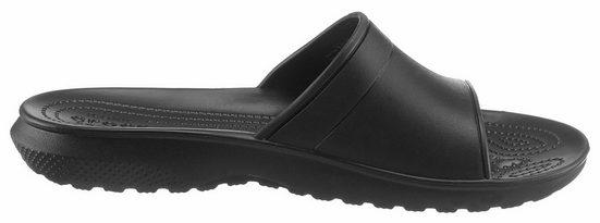 Crocs Classic Slide Pantolette, Leichtgewicht