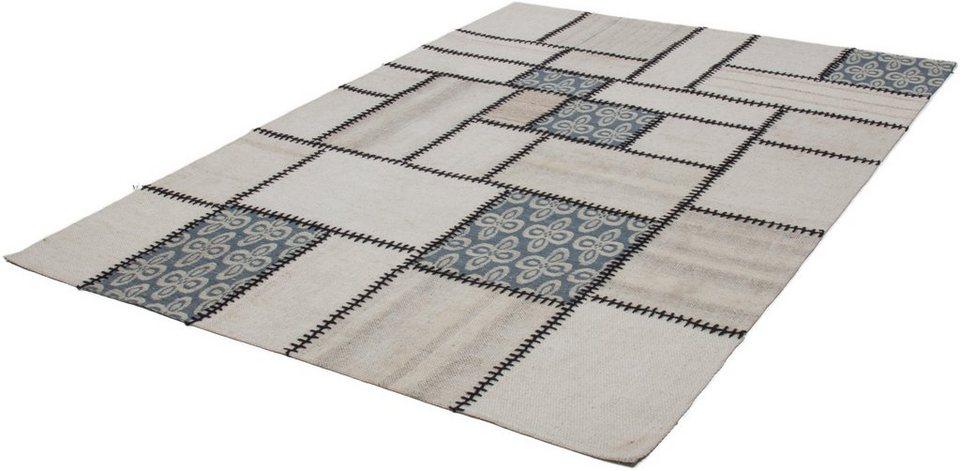Teppich, Kayoom, »Liana 215«, Vintage, handgewebt in Natur
