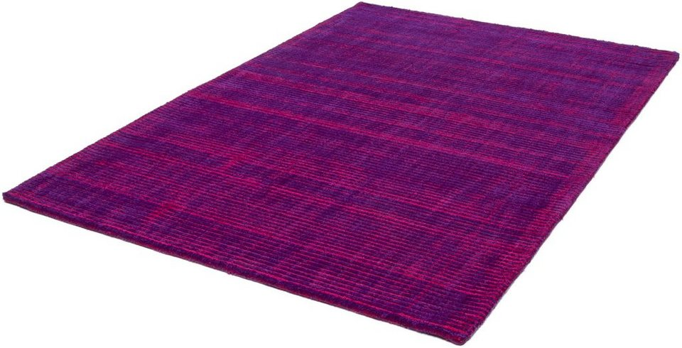 Teppich, Kayoom, »Giada 210«, handgewebt in Lila
