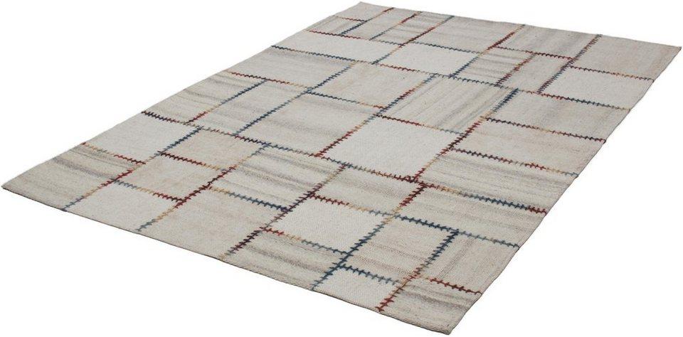 Teppich, Kayoom, »Liana 211«, Vintage, handgewebt in Natur