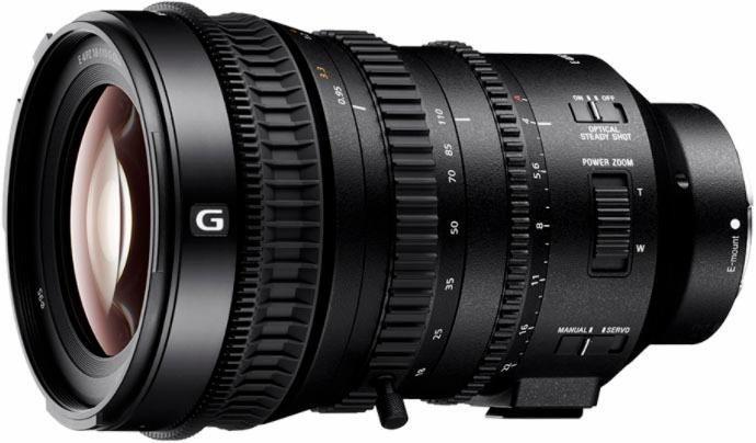 Sony SELP18110G Standardzoom Objektiv in schwarz