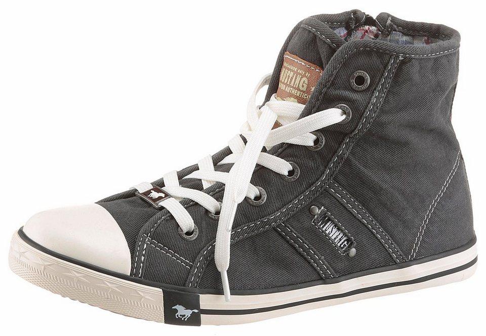 Mustang Shoes Sneaker in schwarz