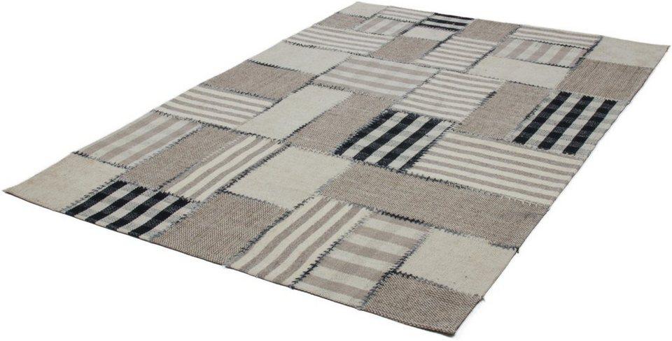 Teppich, Kayoom, »Liana 213«, Vintage, handgewebt in Natur