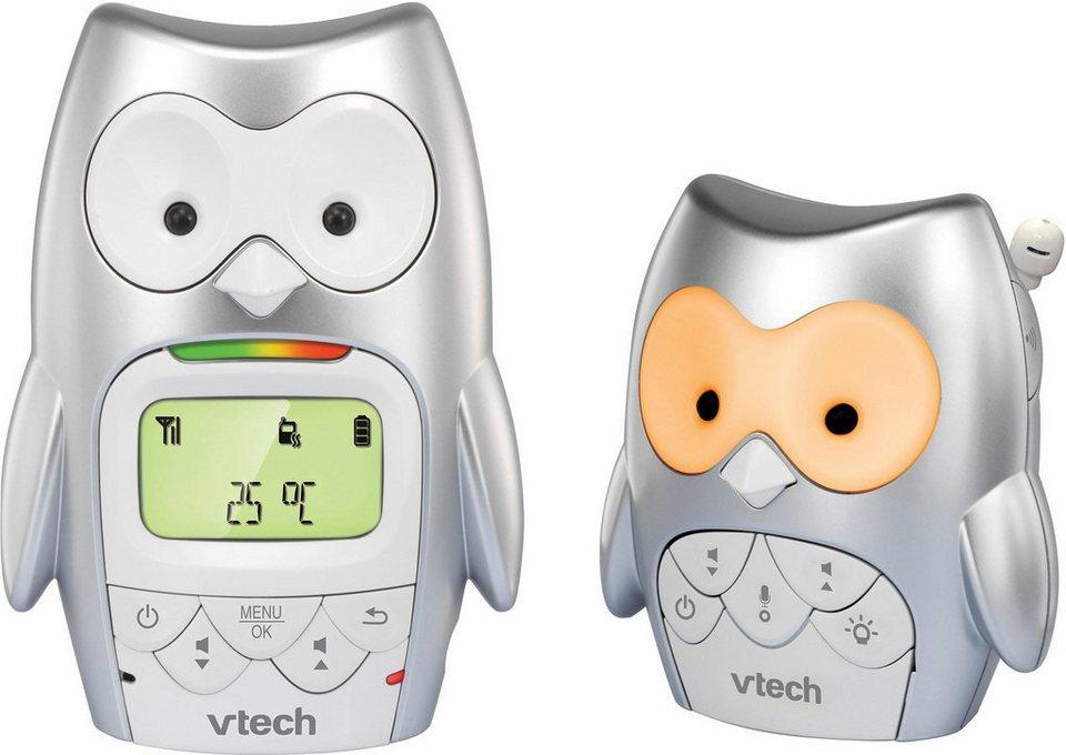 Vtech Babyphone BM2300, im Eulendesign in silber/weiß