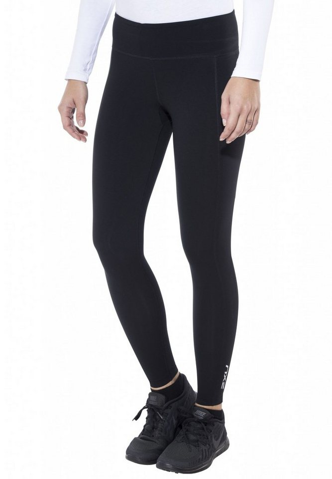 2xU Jogginghose »Active Compression Tights Women« in schwarz