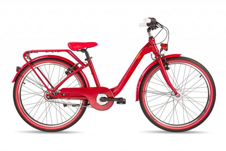 S'COOL Kinderrad »chiX pro 24-7« in rot