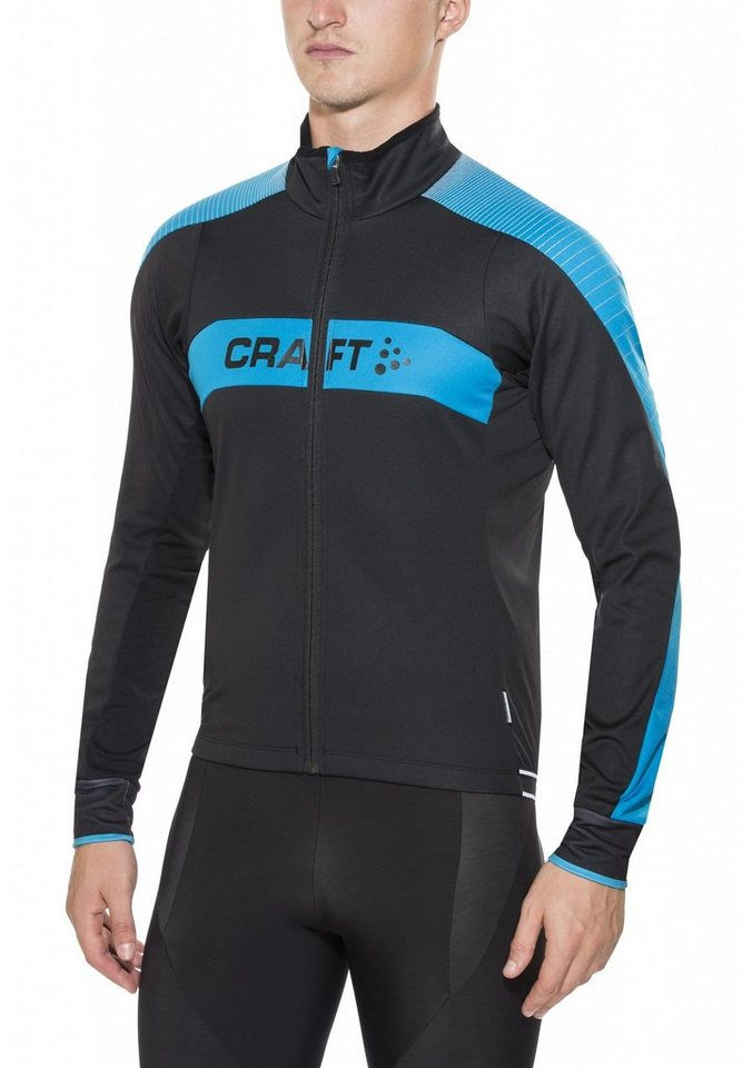 Craft Radjacke »Gran Fondo Jacket Men« in schwarz