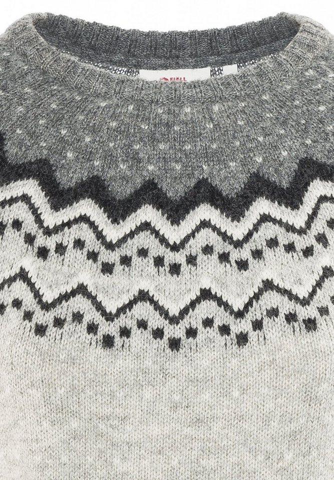 Fjällräven Pullover »Övik Knit Sweater Women« in grau