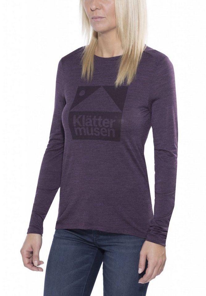 Klättermusen Shirt »Eir L/S Tee Women« in rot