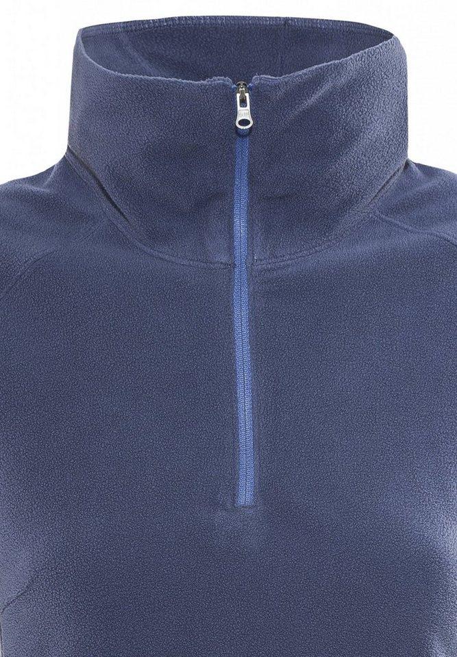 Columbia Pullover »Glacial Fleece III Half Zip Women« in blau