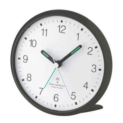 TFA Dostmann Funkwecker »Analoger-Funkwecker mit lautlosem SWEEP-Uhrwerk TFA 60.1506«