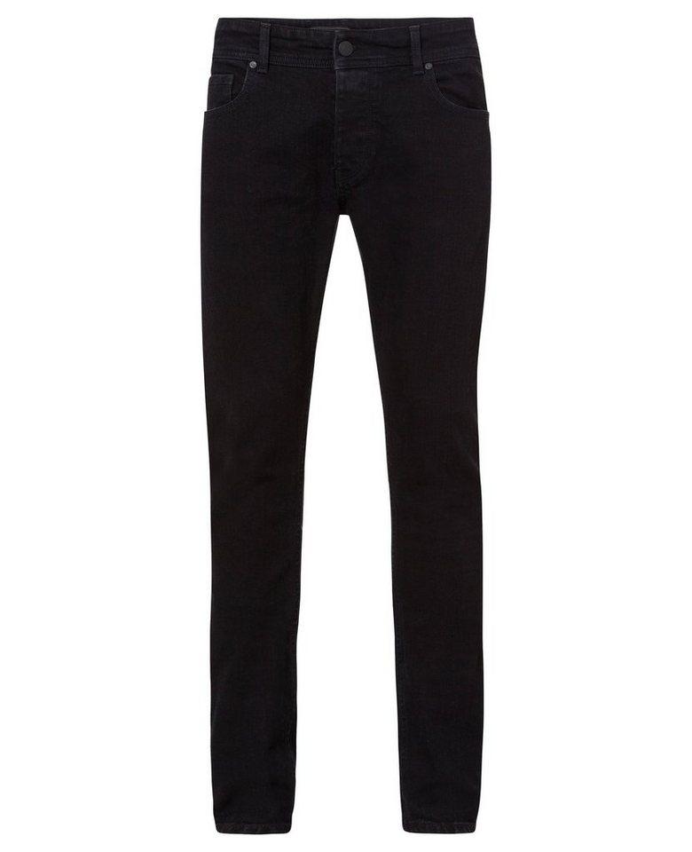 CROSS Jeans ® Skinny Fit Jeans mit Reißverschluss »Eddie« in black