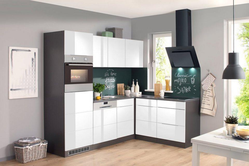 Küchenzeile 230 Cm : k chenzeile mit e ger ten brindisi 230 x 170cm otto ~ Yasmunasinghe.com Haus und Dekorationen