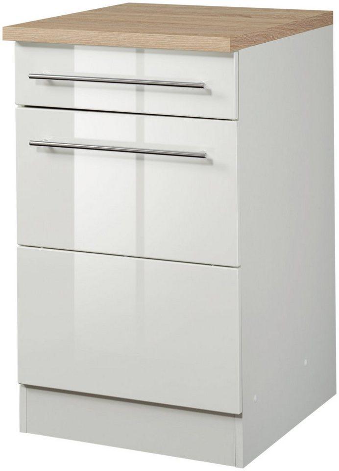 Küchenunterschrank »Vito, Breite 50 cm« in weiß